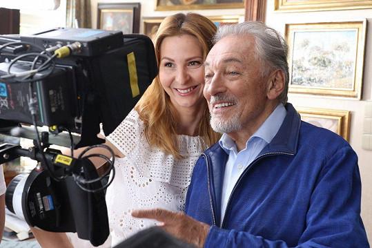 S manželkou Ivanou Gottovou