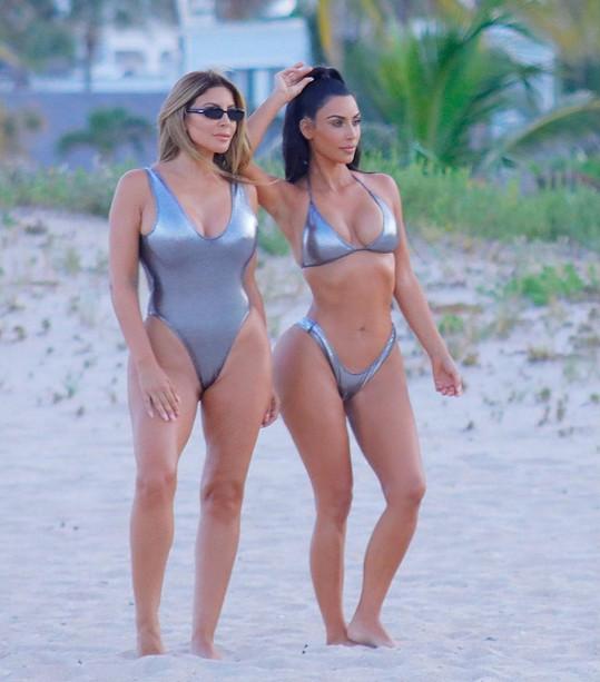 Pippen je blízkou kamarádkou Kim Kardashian.