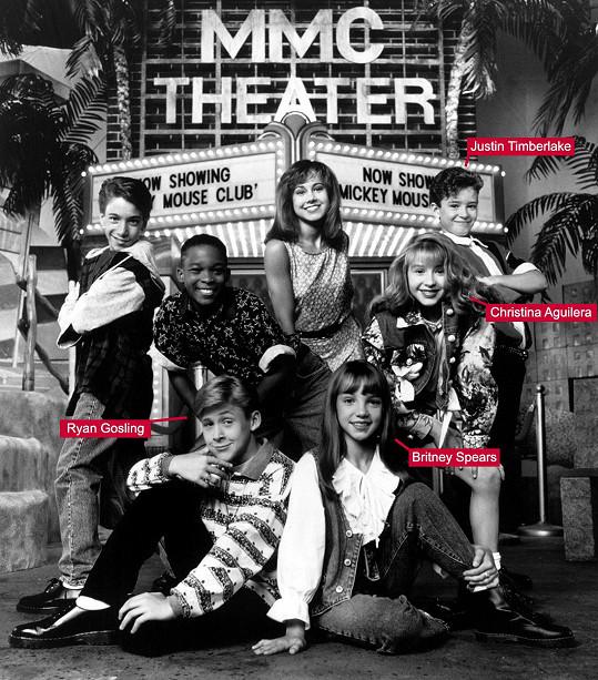 Lynche (nahoře druhý zleva) byl součástí pořadu v letech 1993 - 1995.