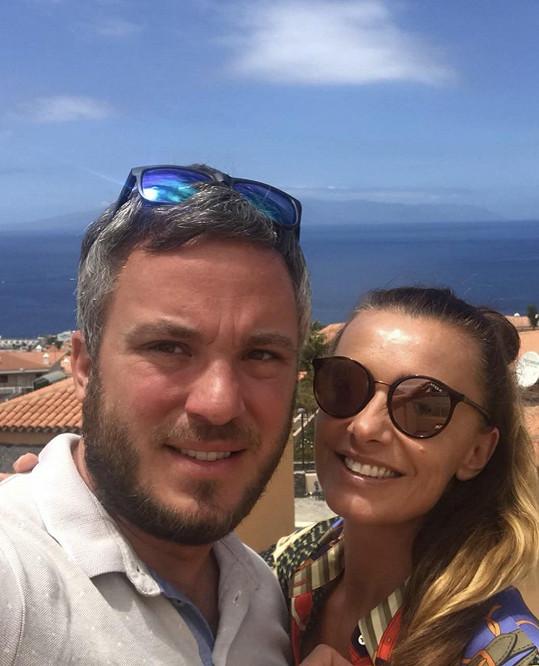Alice Bendová s dlouholetým přítelem Michalem Topolem