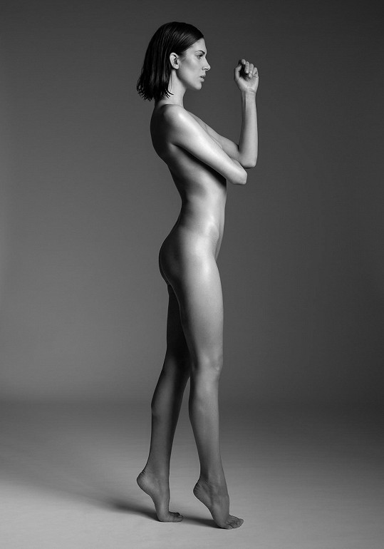 V minulosti se nechala zvěčnit i úplně nahá.