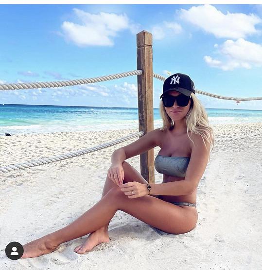 Nela Slováková je v Mexiku.