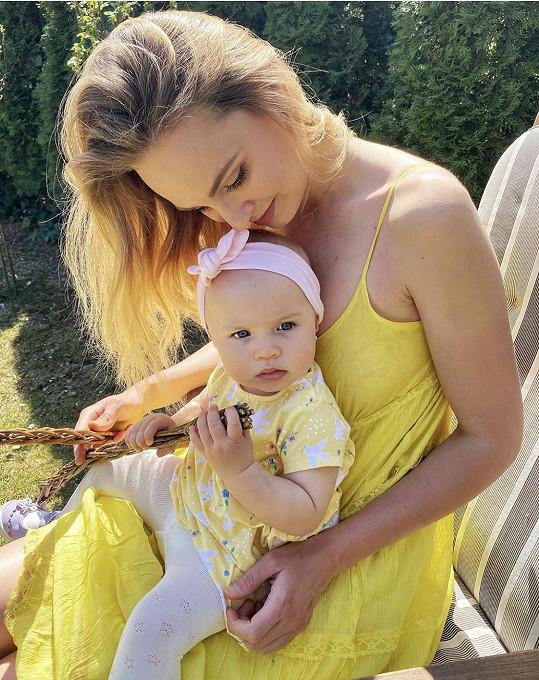 Tereza s dcerou Lilien