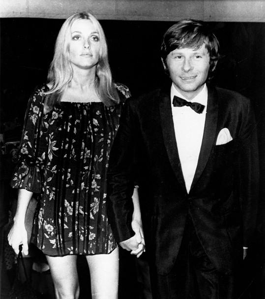 Roman Polanski a Sharon Tate v roce 1968 na festivalu v Cannes