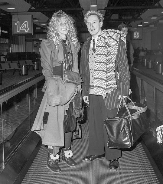 Na archivním snímku z 80. let