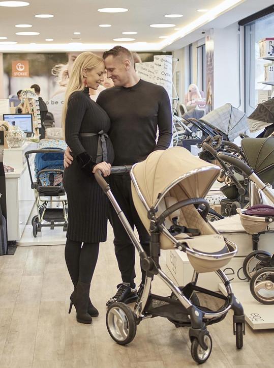 Otcem miminka je podnikatel Michal Kovář.