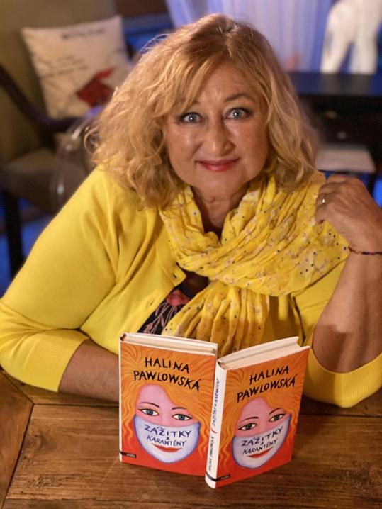 Kormě chutných jídel vznikla i její nová kniha povídek Zážitky z karantény.