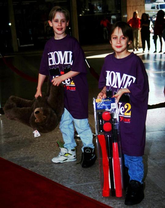 Macaulay a Kieran Culkinovi ze Sám doma