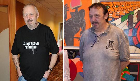 Pavel Vohnout alias Kyklop si začal barvit hlavu.