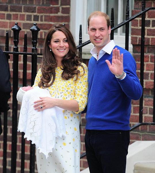 Největší událostí roku v britské královské rodině bylo nepochybně narození princezny Charlotte.