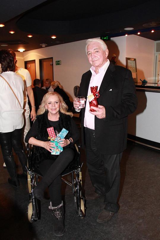Hanka s manželem Jiřím