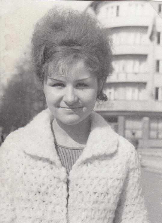 Foto z dob studií na gymnáziu