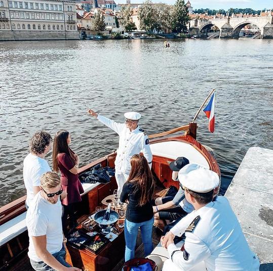 Plavbu po Vltavě si užili.