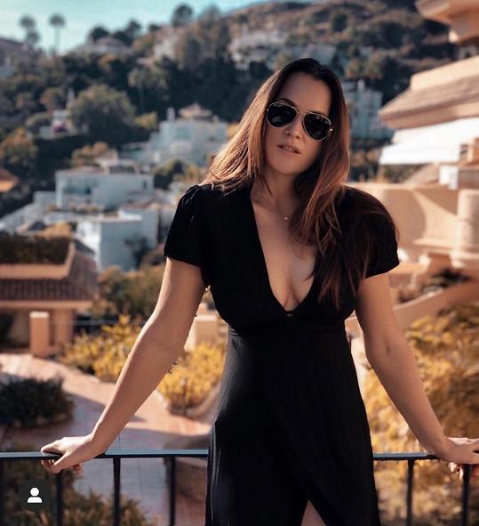 Kateřina Sokolová pobývá ve španělské Marbelle.