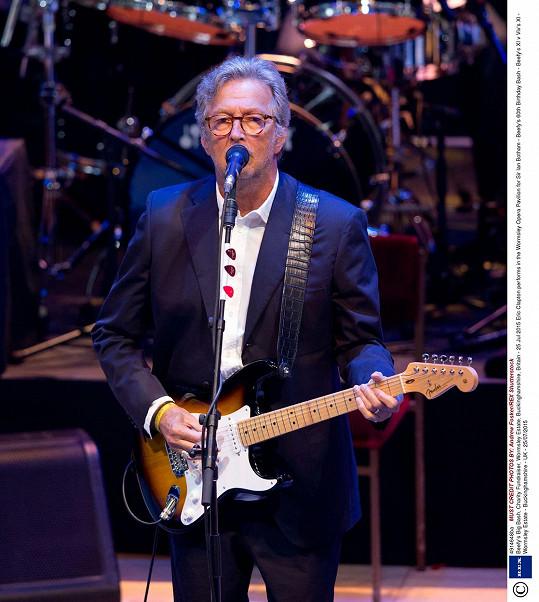 Eric Clapton v roce 2015
