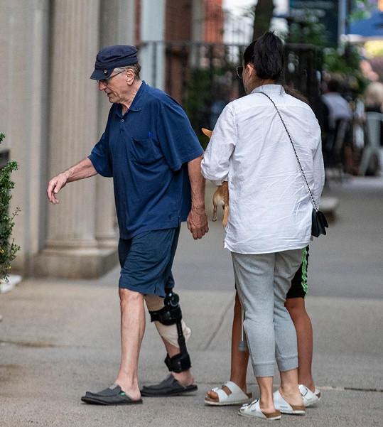 De Nira zachytili v ulicích New York.