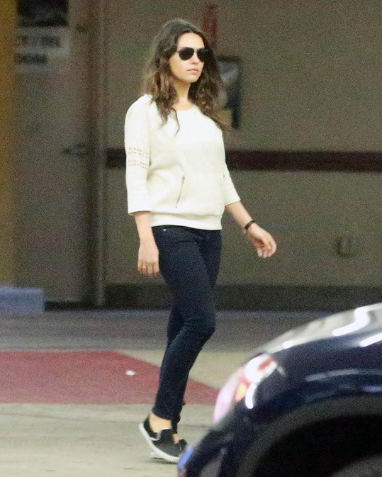 Mila Kunis je opět na své váze.