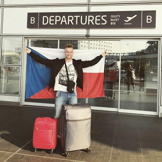 Daniel Koždoň odletěl na soutěž Men Universe do Dominikánské republiky.