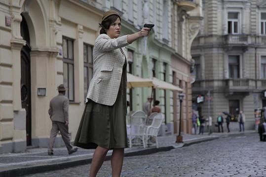 Katka Sokolová v roli Rebeky