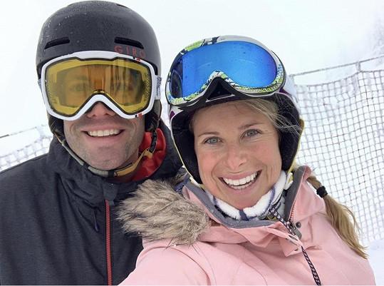 S manželem Fabriziem