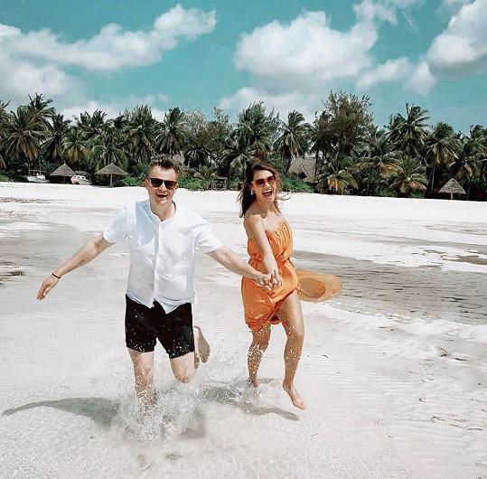 Na poslední dovolené na Zanzibaru s přítelem Kamilem Kazmou Bartoškem
