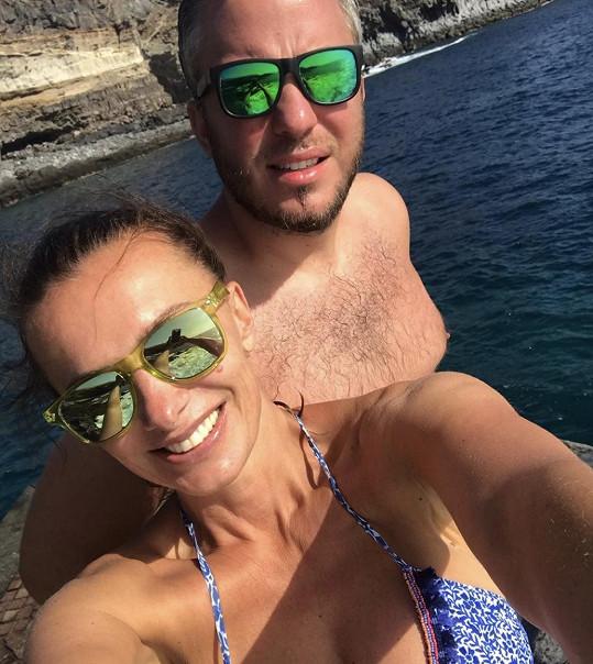 Alice Bendová s přítelem Michalem