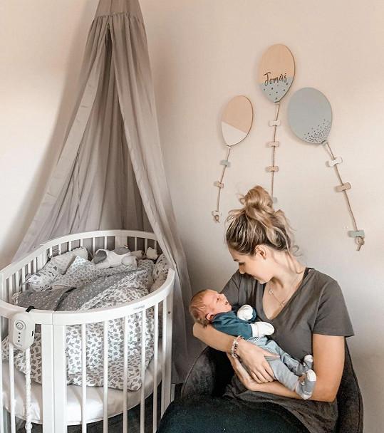 Lucie se stala maminkou letos v lednu.