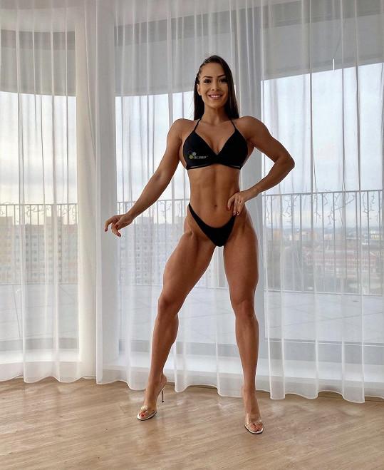 Timea byla úspěšnou reprezentantkou v bikini fitness.