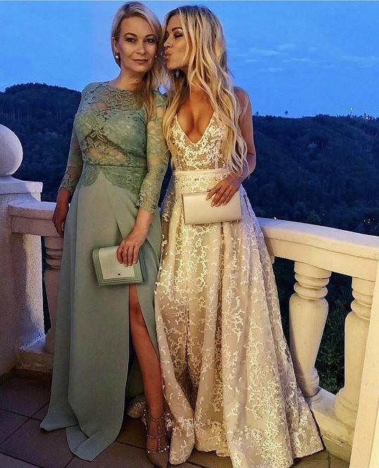 Dominika Myslivcová se svojí krásnou maminkou