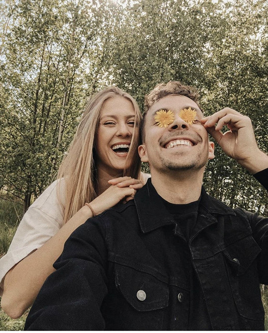 Natálie Kotková a Petr Lexa