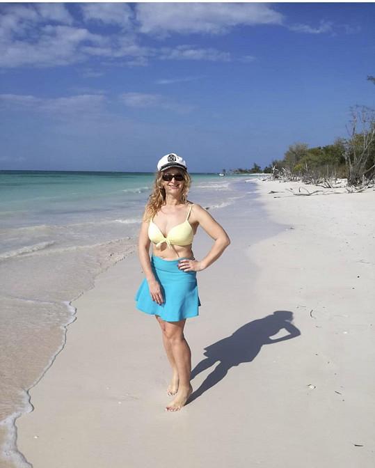 Markéta Muzikářová odletěla na Kubu.
