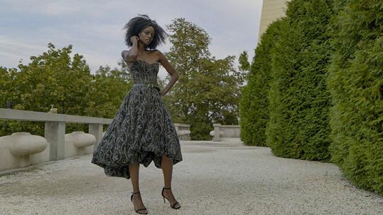 Exotická kráska Dina Cassama