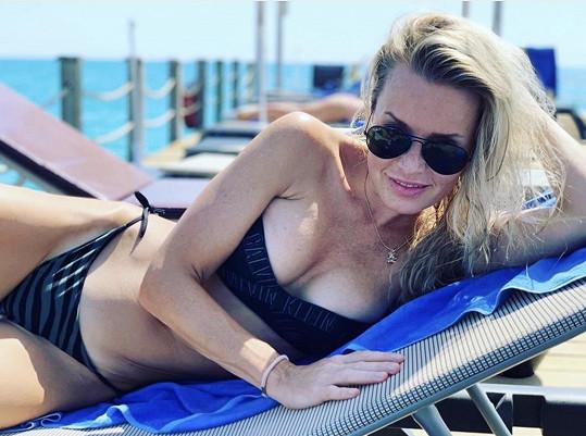 Alice Janečková je na dovolené v Turecku.