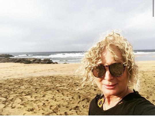 Světlana Nálepková má apartmán na ostrově Fuerteventura.