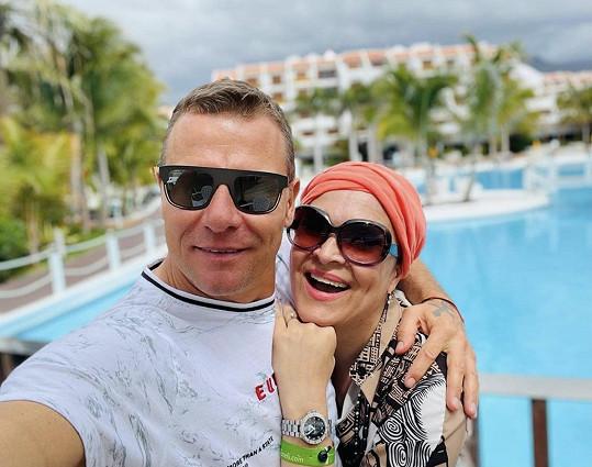 Mahulena Bočanová s Vlastou Hájkem, manželem Zuzany Belohorcové.