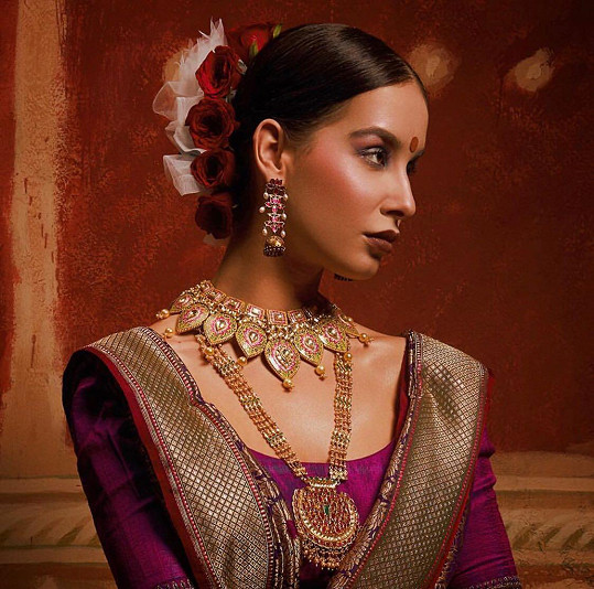 Uhrančivá kráska byla v Indii velmi žádaná.