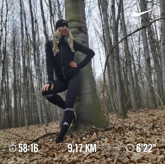 A běhat chodí do lesa.