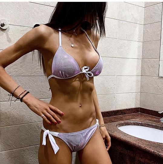 Eliška Bučková je ráda, že má nyní tělo pevné jako skála.