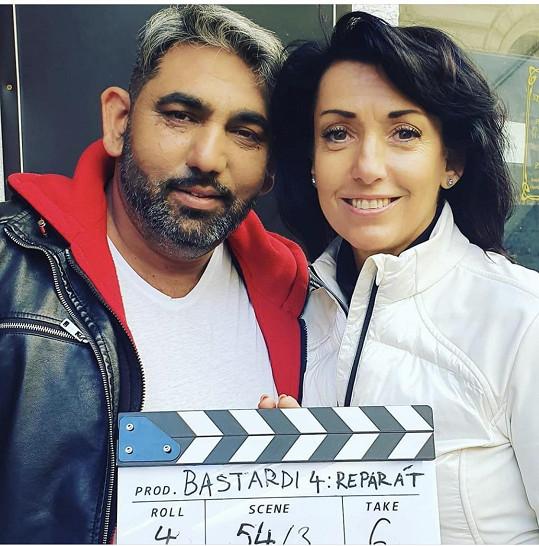 Se Zdeňkem Godlou už začala také natáčet film Bastardi 4.