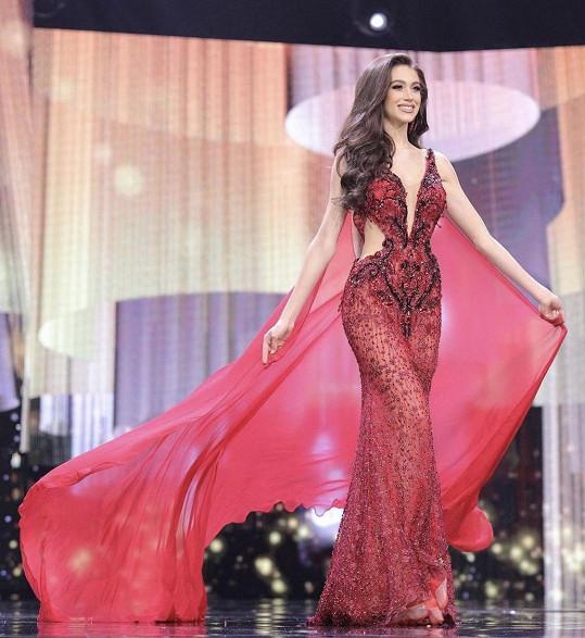 Denisa na finále Miss Grand International v Thajsku.