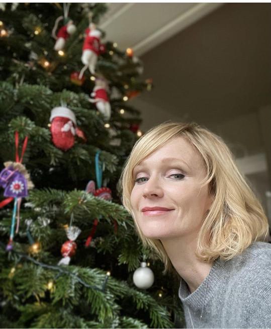 Aňa je připravená i na Vánoce.
