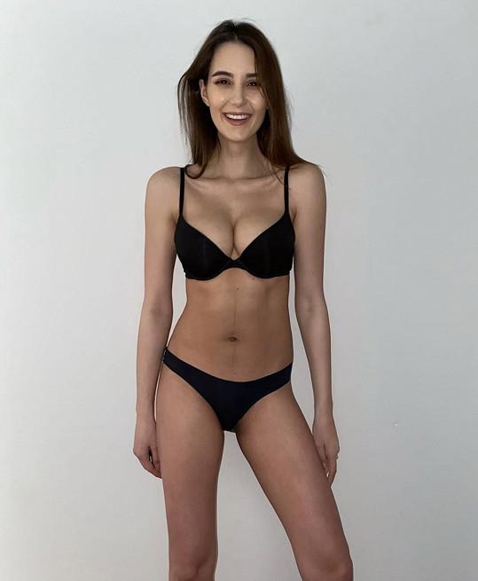Kristýna Schicková se předvedla ve spodním prádle.