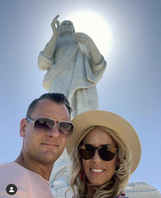 Kate vyrazila s přítelem Michalem na Kubu.