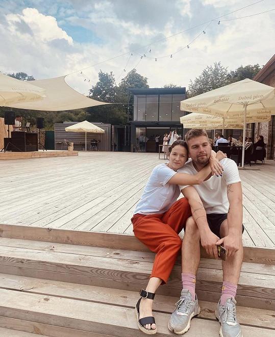 S manželem Kryštofem Kubínem