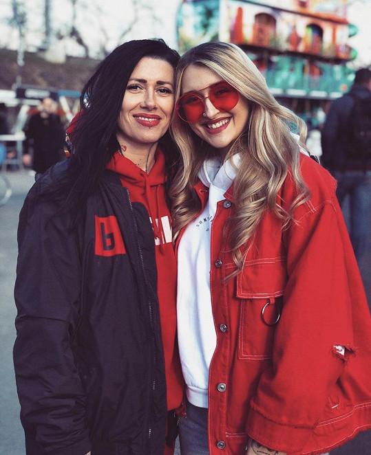 Sharlota s maminkou