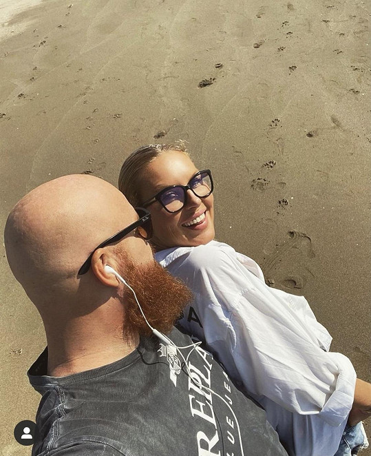 Simona s manželem Karlem