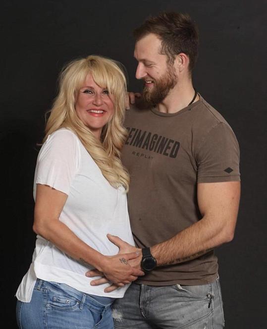 S manželem Pepou