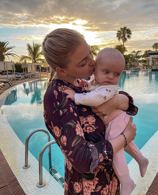 Markéta Konvičková vyrazila s dcerkou na první zahraniční dovolenou.