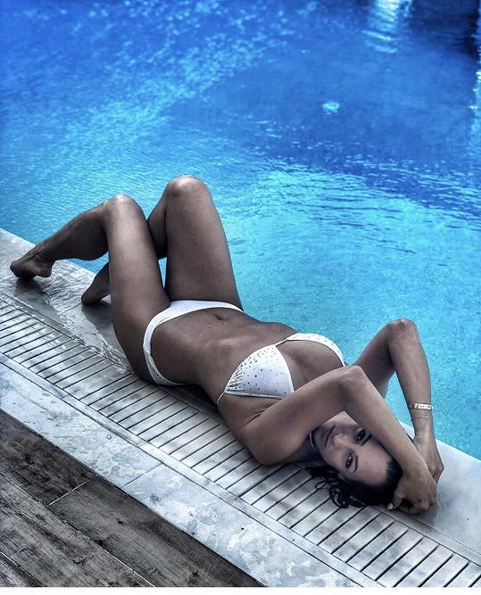Veronika Farářová na ostrově Kréta
