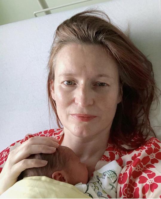 Kateřina Geislerová porodila druhého syna.